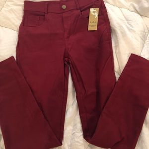 Brand new with tags maroon pants